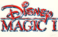 Animation Art:Production Drawing, Disney Magic Logo Illustration (Walt Disney, 1990s)....