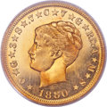 Proof Four Dollar Gold Pieces, 1880 $4 Coiled Hair, Judd-1660, Pollock-1860, R.7, PR65 PCGS.CAC....