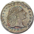 Early Half Dimes, 1795 H10C V-4, LM-10 MS65+ PCGS. CAC....