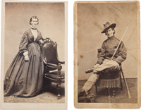 Frances Clayton: Woman Union Soldier Cartes de Visite