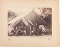 Photography, Mathew Brady Photograph of General Ulysses S. Grant and Staff atCity Point, Virginia....