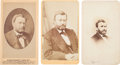 Photography:CDVs, Ulysses S. Grant: Three Scarce Post-War Images.... (Total: 3 )