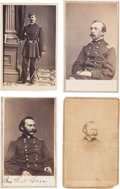Photography:CDVs, Union Generals: Four Cartes de Visite.... (Total: 4 )