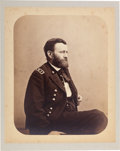 Photography:Studio Portraits, Ulysses S. Grant: Large Studio Portrait as Lieutenant General....