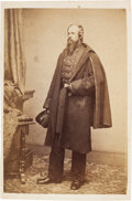 Photography:CDVs, [Gettysburg Casualty]. Union Colonel Edward E. Cross Carte de Visite....