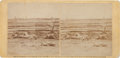 Photography:Stereo Cards, [Battle of Antietam]. Stereoview Photograph of the Dead at Antietam, 1862....