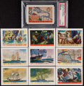 "Non-Sport Cards:Singles (Pre-1950), 1936 F375 Pac-Kups ""Jolly Roger Pirates"" Complete Set (48). ..."