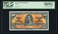 Canadian Currency: , BC-26S $50 1937 Specimen . ...