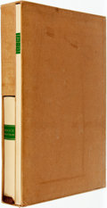 Books:Literature 1900-up, [Limited Editions Club] Q. Horatius Flaccus [Horace]. Odes andEpodes. Introduction by Louis Untermeyer. New York: L...
