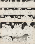 Original Comic Art:Comic Strip Art, Winsor McCay Little Nemo in Slumberland Sunday Comic StripOriginal Art dated 7-18-09 (New York Herald, 1909)....