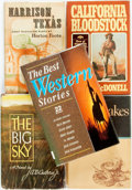 Books:Americana & American History, [Western/Americana/Fiction]. Group of Five Western and AmericanaFiction Titles. Various publishers and dates.... (Total: 5 Items)