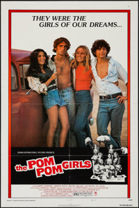 "The Pom Pom Girls & Others Lot (Crown International, 1976). One Sheets (4) (27"" X 41"") Style B. Bad Girl..."