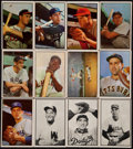 Baseball Cards:Lots, 1953 Bowman Baseball Color and Black & White Collection(100)....