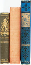 Books:Literature Pre-1900, Mark Twain. Trio of Classic Titles. Various publishers and dates.Sketches and Christian Science are both first edit...(Total: 3 Items)