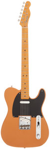 Musical Instruments:Electric Guitars, 1997 Fender '52 Telecaster Copper Solid Body Electric Guitar,Serial # 26496....