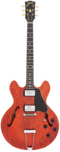 Musical Instruments:Electric Guitars, 1972 Gibson ES-335 Cherry Semi-Hollow Body Electric Guitar, Serial# 674040....