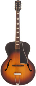 Musical Instruments:Acoustic Guitars, 1958 Gibson L-50 Sunburst Archtop Acoustic Guitar, Serial #T6396-3....