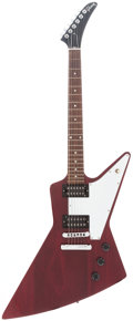 Musical Instruments:Electric Guitars, 2006 Gibson Explorer Cherry Solid Body Electric Guitar, Serial #005960568....