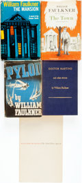 Books:Literature 1900-up, William Faulkner. Group of Five First Editions. New York: RandomHouse, 1957, 1959; Harrison Smith and Robert Haas, 1934, 19...(Total: 5 Items)