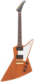 Musical Instruments:Electric Guitars, 2004 Gibson Explorer Natural Solid Body Electric Guitar, Serial #02264498....