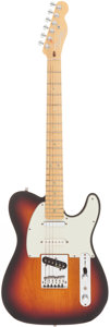 Musical Instruments:Electric Guitars, 1998 Fender American Deluxe Nashville Telecaster Sunburst Solid Body Electric Guitar, Serial # DN807952....