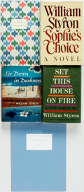 Books:Fiction, William Styron. SIGNED/LIMITED. Group of Five First Editions.Various publishers and dates. A Chance in a Million and... (Total: 4 Items)