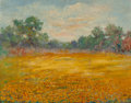Paintings, BIRD JONES (American, 1865-1944). On the Road to Dallas. Oil on board. 12-1/2 x 16 inches (31.8 x 40.6 cm). Signed, titl...
