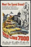 "Movie Posters:Sports, Red Line 7000 (Paramount, 1965). One Sheet (27"" X 41""). Sports. ..."