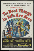 "Movie Posters:Musical, The Best Things in Life Are Free (Universal, 1956). One Sheet (27""X 41""). Musical. ..."