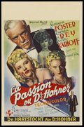 """Movie Posters:Horror, The Climax (Universal, 1944). Belgian (14"""" X 22""""). Horror. ..."""