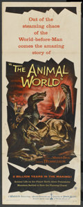 "Movie Posters:Documentary, The Animal World (Warner Brothers, 1956). Insert (14"" X 36""). Documentary. ..."