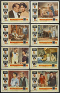 """Movie Posters:Romance, Love In The Afternoon (Allied Artists, 1957). Lobby Card Set of 8 (11"""" X 14""""). Romance. ... (Total: 8 Items)"""