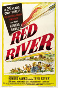 """Movie Posters:Western, Red River (United Artists, 1948). One Sheet (27"""" X 41""""). ..."""