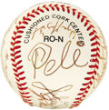 Autographs:Others, 1994 Sports Superstars Multi-Signed Baseball. An extraordinary array of autographs find a common theme in each signer's dom...