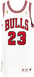 Basketball Collectibles:Uniforms, 1996-97 Michael Jordan NBA Finals Game Worn Jersey. A fifth WorldChampionship season, and a fifth NBA Finals Most Valuable...