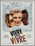 """Movie Posters:Foreign, Live for Life (United Artists, 1967). French Affiche (23.5"""" X31.5""""). Foreign.. ..."""