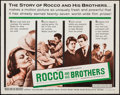"""Movie Posters:Foreign, Rocco and His Brothers (Astor, 1961). Half Sheet (22"""" X 28""""). Foreign.. ..."""