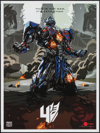 """Transformers: Age of Extinction (Paramount, 2014). AMC IMAX Exclusive Poster (18"""" X 24""""). Science Fiction"""