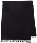 "Luxury Accessories:Home, Hermes Black Cashmere & Wool Chale Blanket. ExcellentCondition. 30"" Width x 86"" Length. ..."