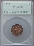 Proof Indian Cents: , 1895 1C PR65 Red and Brown PCGS. PCGS Population (46/15). NGC Census: (62/18). Mintage: 2,062. Numismedia Wsl. Price for pr...