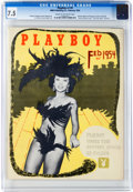 Magazines:Miscellaneous, Playboy #3 (HMH Publishing, 1954) CGC VF- 7.5 Cream to off-whitepages....