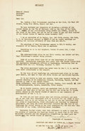 Books:World History, [Fleeing Nazi Germany] A touching and poignant legal document beinga notarized affidavit requesting a visa for a German cit...