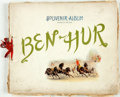 Books:Photography, [Theatre Memorabilia] Souvenir Album for Ben-Hur. Ca. 1900. Filled with photographic scenes of the play, separated b...