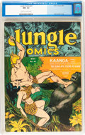 Golden Age (1938-1955):Adventure, Jungle Comics #41 (Fiction House, 1943) CGC NM- 9.2 Cream to off-white pages....