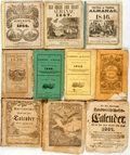 Books:Americana & American History, [Almanacs] Large Group of Twenty Almanacs. 1792-1782. Includes sixGerman language almanacs and six Old Farmer's almanacs (R...