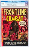 Golden Age (1938-1955):War, Frontline Combat #7 Gaines File pedigree 5/10 (EC, 1952) CGC NM 9.4 White pages....