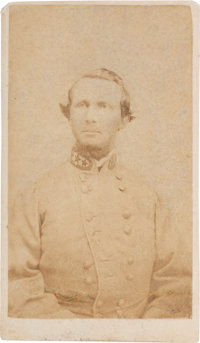 Confederate General States Rights Gist Carte de Visite, circa 1863