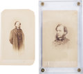 Photography:CDVs, Union Brigadier General Samuel Wylie Crawford Lot of Two Cartes de Visite.... (Total: 2 )