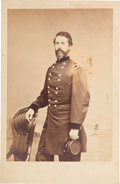 Photography:Cabinet Photos, Union Brevet Major General John Caldwell Tidball Cabinet Card....