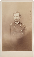 "Photography:CDVs, Union Major General Lewis ""Lew"" Wallace Carte de Visite...."